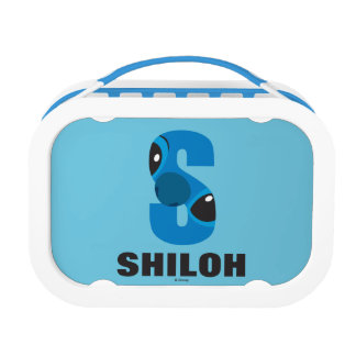 S is for Stitch | Add Your Name Lunch Box