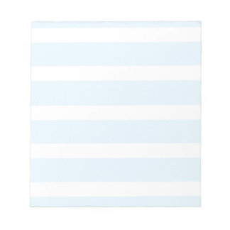 s is for stripes print notepad