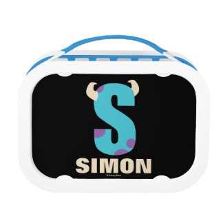 S is for Sulley | Add Your Name Lunch Box