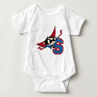 S is for Superhero Baby Bodysuit