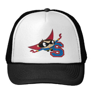 S is for Superhero Trucker Hat