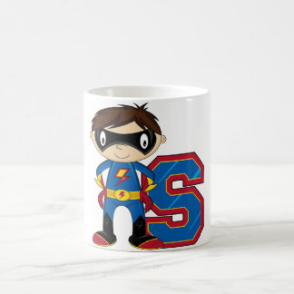 S is for Superhero Mug