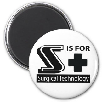 S Is For Surgical Technology Fridge Magnets