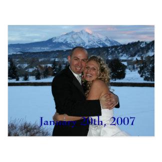 S&J2, January 20th, 2007 Postcard
