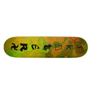 S, k, A, T, E, R, X Skate Boards