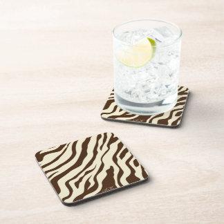 S.K.: Zebra Fever Cork Coaster