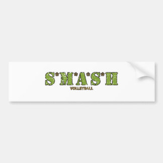 S*M*A*S*H Volleyball Bumper Sticker