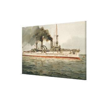 S.M. Grosse Kreuzer 'Furst Bismarck' (H.M. Great C Canvas Print
