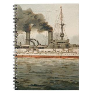 S.M. Grosse Kreuzer 'Furst Bismarck' (H.M. Great C Notebook