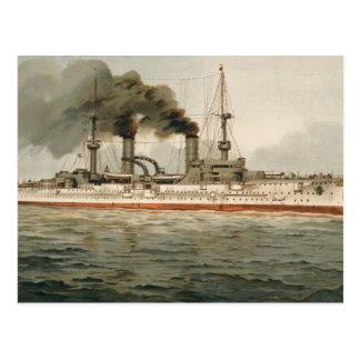 S.M. Grosse Kreuzer 'Furst Bismarck' (H.M. Great C Post Card