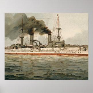 S.M. Grosse Kreuzer 'Furst Bismarck' (H.M. Great C Posters