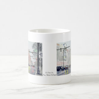 S Main St, Ann Arbor Michigan Coffee Mug