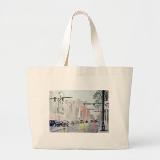 S Main St, Ann Arbor Michigan Jumbo Tote Bag