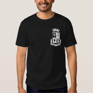 S.O.C. Shield on Black Shirt
