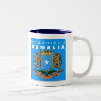 S O M A L I A   F L A G Two-Tone COFFEE MUG
