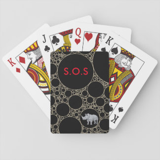 S.O.S PLAYING CARDS