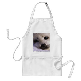 S.O.S. SAVE OUR HARP SEALS STANDARD APRON