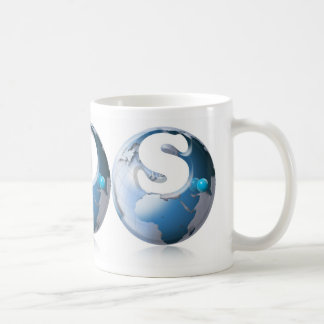 S.O.S. World globe Coffee Mug