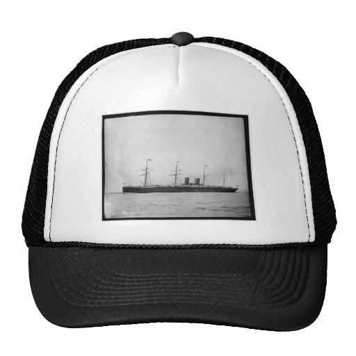 S.S. Alaska Ocean Liner 1890-1899 Vintage Trucker Hats
