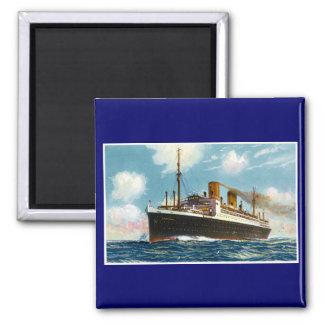 S S Stuttgart Luxury Ocean Liner - Vintage Magnets