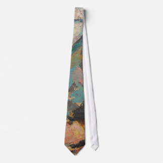 S Shano Color Mountain Slice 9 Tie