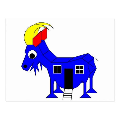s She Goat - Playhose Draft Postcards