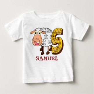 S SHEEP personalised kids Baby T-Shirt