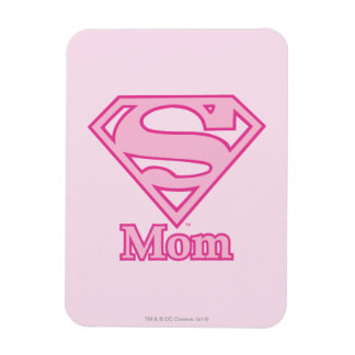 S-Shield Mom Rectangle Magnet