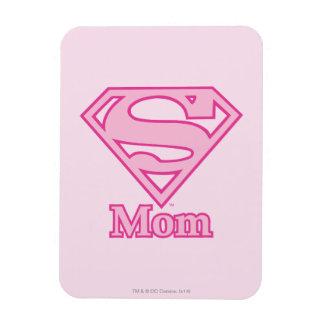 S-Shield Mom Rectangular Photo Magnet
