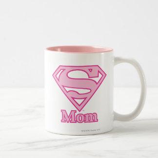 S-Shield Mom Two-Tone Mug