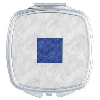S Sierra Watercolor Nautical Signal Maritime Flag Makeup Mirrors