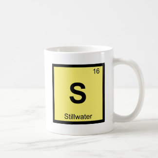 S - Stillwater Oklahoma Chemistry Periodic Table Coffee Mug