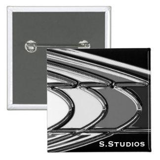 S.Studios Logo 15 Cm Square Badge