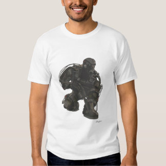 S.T.A.L.K.E.R. Exo Skeleton Character Tshirts
