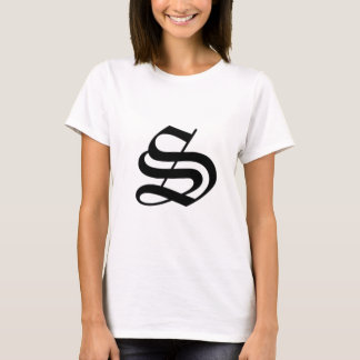 S-text Old English T-Shirt