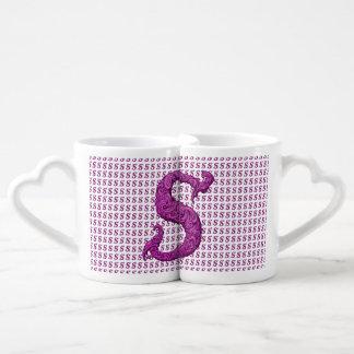 S - The Falck Alphabet Pink Lovers Mug Set