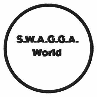 S W A G G A World AA Fleece Track Jacket