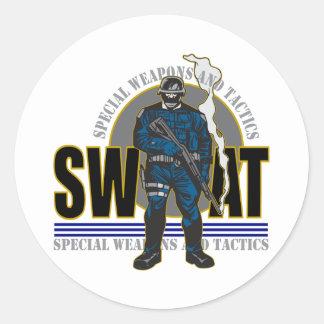 S.W.A.T. Attitude Round Sticker