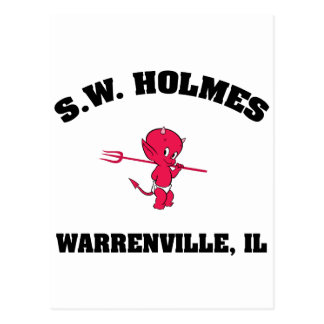 S. W. HOLMES  Elementary School Postcards