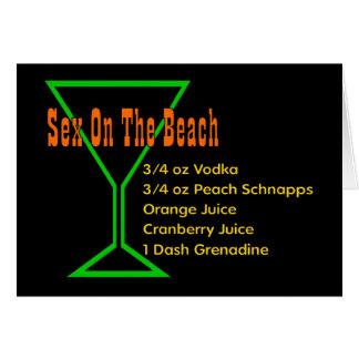 S*x On The Beach Greeting Card