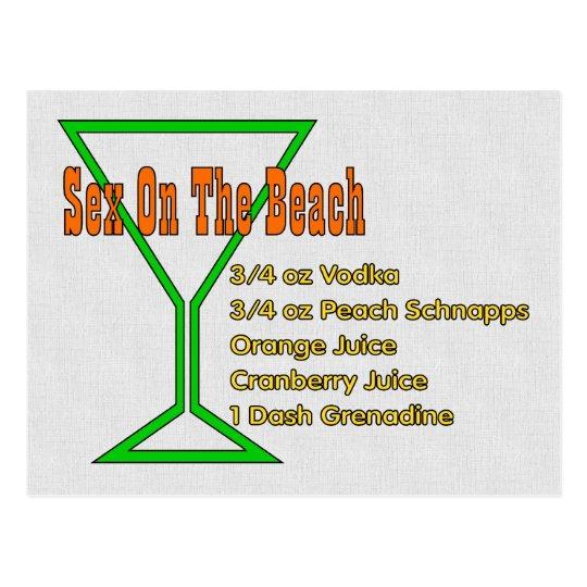 S*x On The Beach Postcard