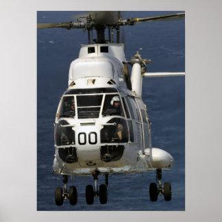 SA-330 Puma Helicopter Poster
