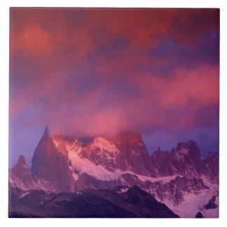 SA, Argentina, Los Glaciares National Park, Large Square Tile