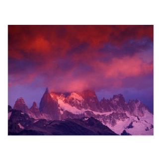 SA, Argentina, Los Glaciares National Park, Postcard