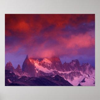 SA Argentina Los Glaciares National Park Print