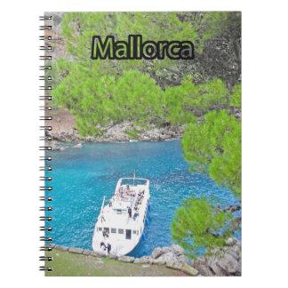 sa calobra Majorca spiral notebook