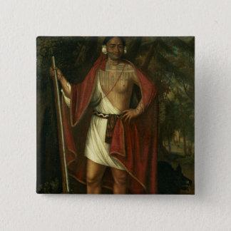 Sa Ga Yeath Qua Pieth Ton 15 Cm Square Badge