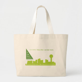 SA Knoxville Skyline Logo Jumbo Tote Bag