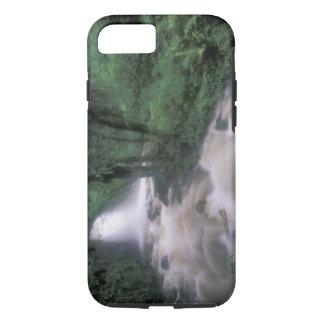 SA, Peru, S.H. Machu Picchu, Cascade and cloud iPhone 8/7 Case