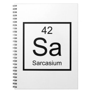 Sa Sarcasium Element Notebook